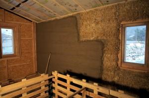 la maison de paille cologique - Maison Ecologique En Paille